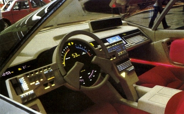 The Most Incredible Car Dashboards From Past