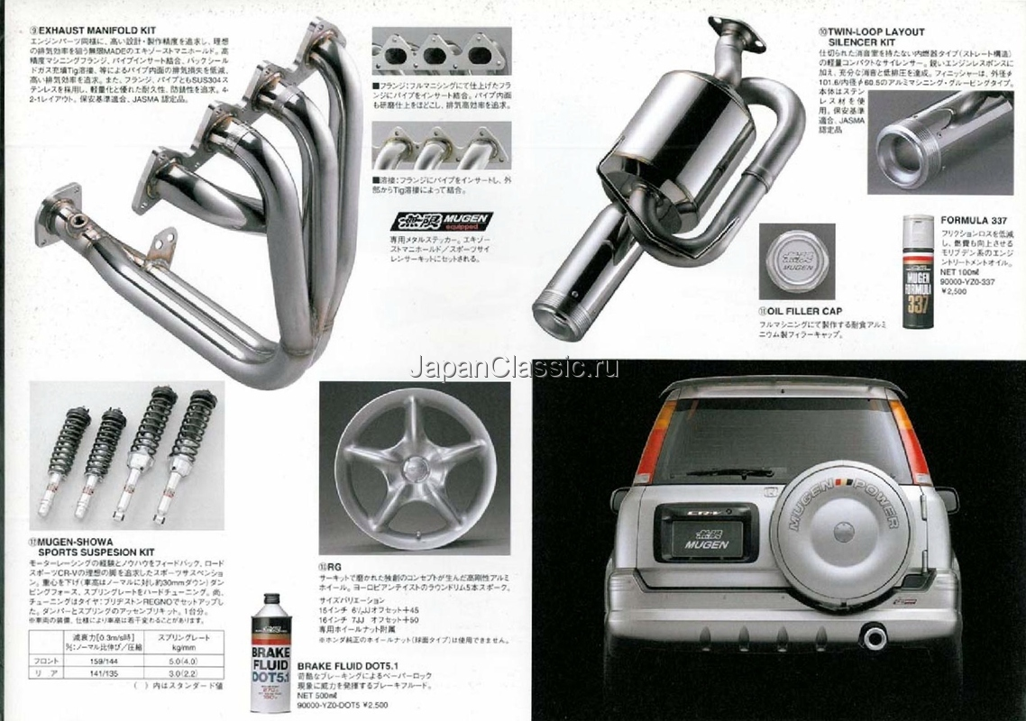 Honda Cr V 1996 Mugen Rd1 Japanclassic