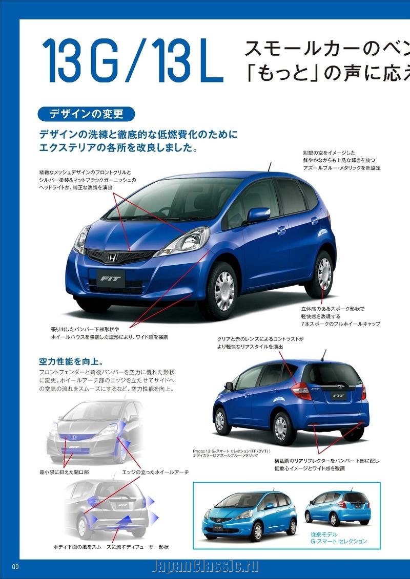 Honda Fit 2010 GE - JapanClassic