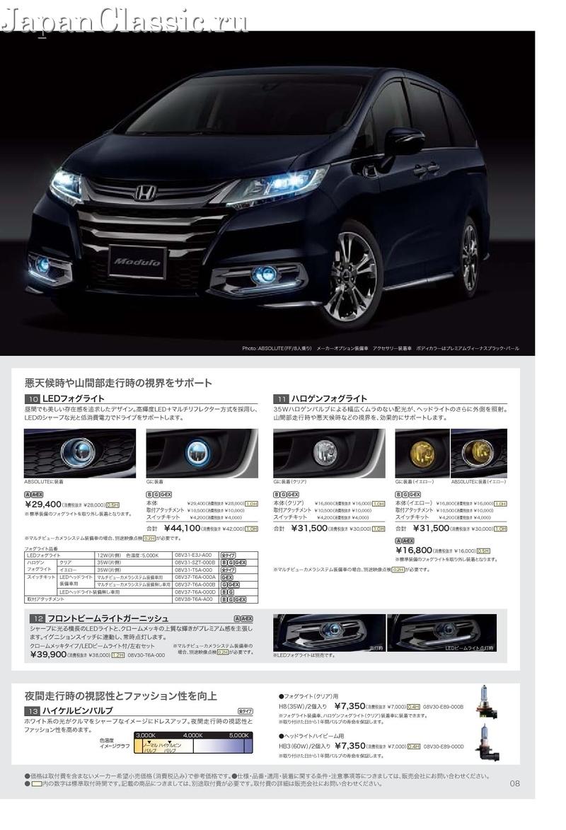 Honda odyssey 2013 accessory rc1