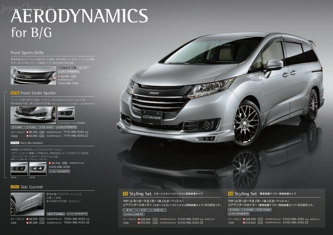 Honda Odyssey 2013 Mugen Rc1 Japanclassic