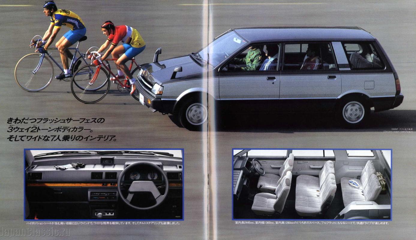 mitsubishi chariot 1983