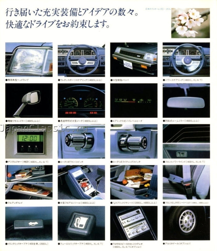 Mitsubishi Lancer 1982 Fiore Ii Japanclassic