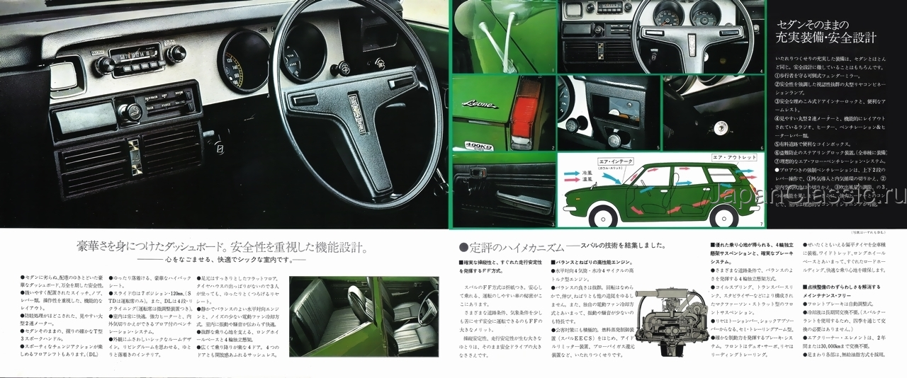 Subaru Leone A 1972 Estate Van A Japanclassic