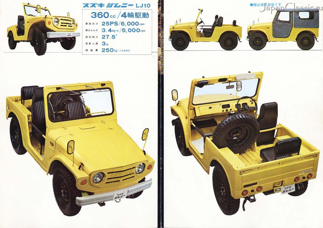 Suzuki Jimny 1969 LJ10 - JapanClassic