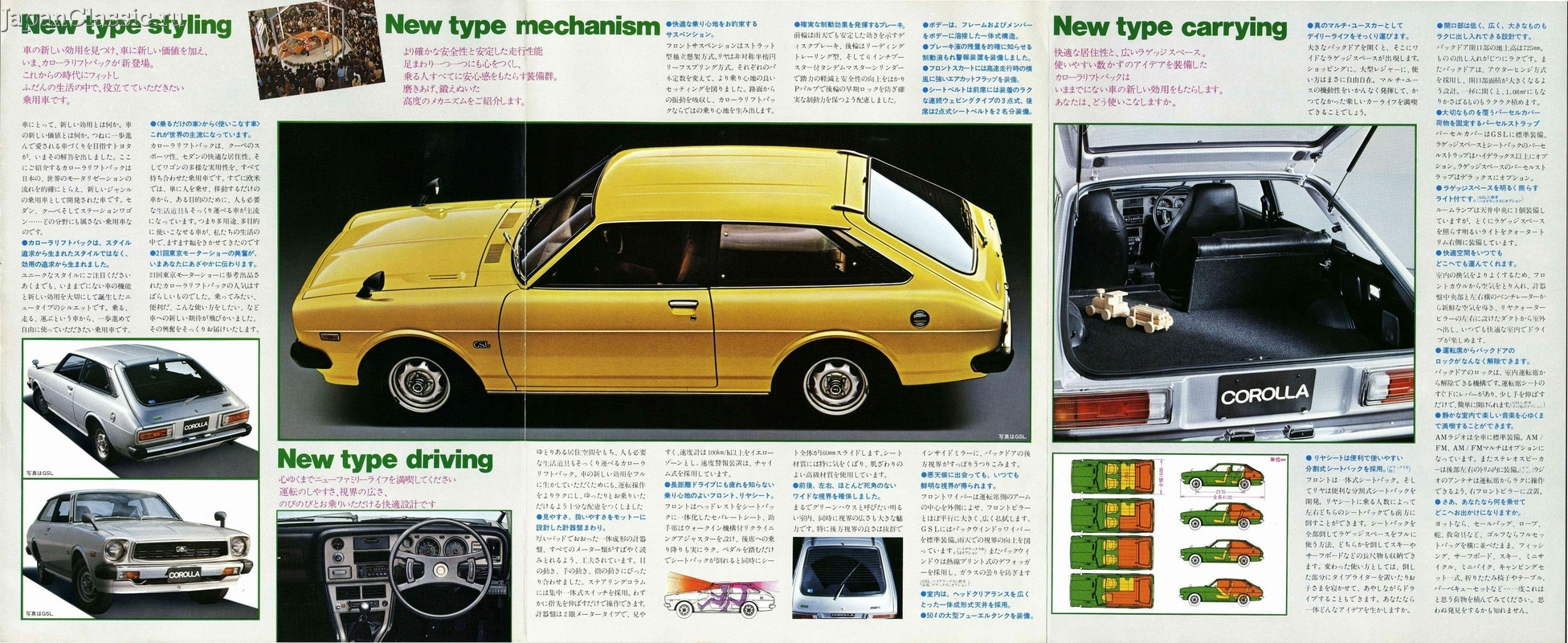 Toyota Corolla 1976 LIFTBACK E30 - JapanClassic