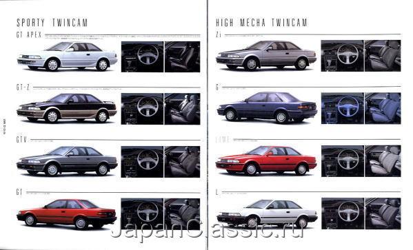 Toyota Corolla Levin 1987 Ae91 Ae92 Japanclassic