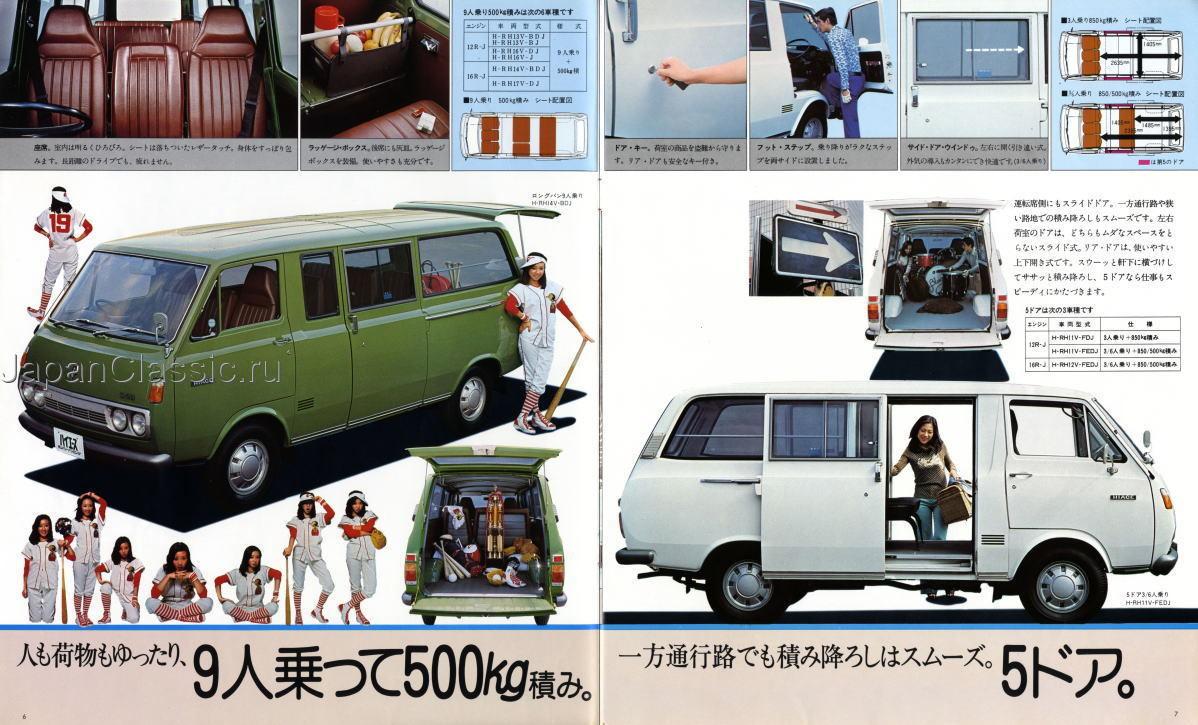 Toyota Hiace 1975 H10 Japanclassic
