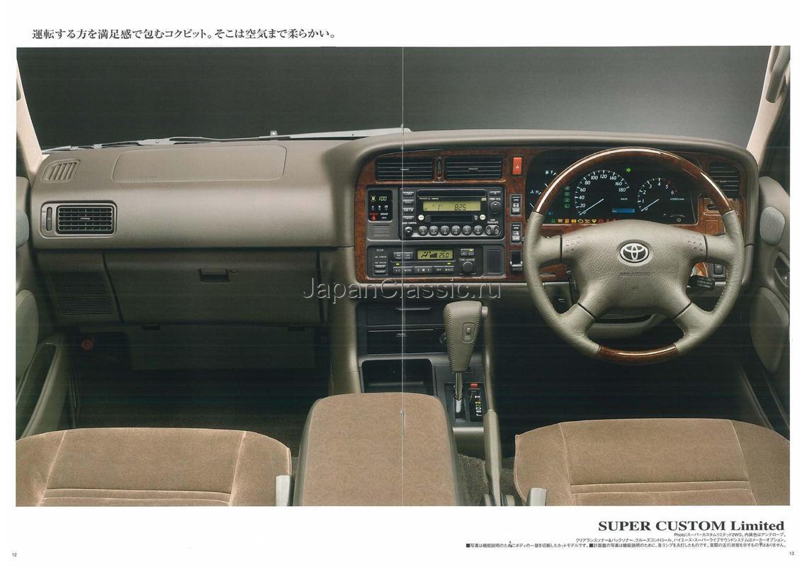 Toyota Hiace 2002 Kzh100 Kzh106 Japanclassic