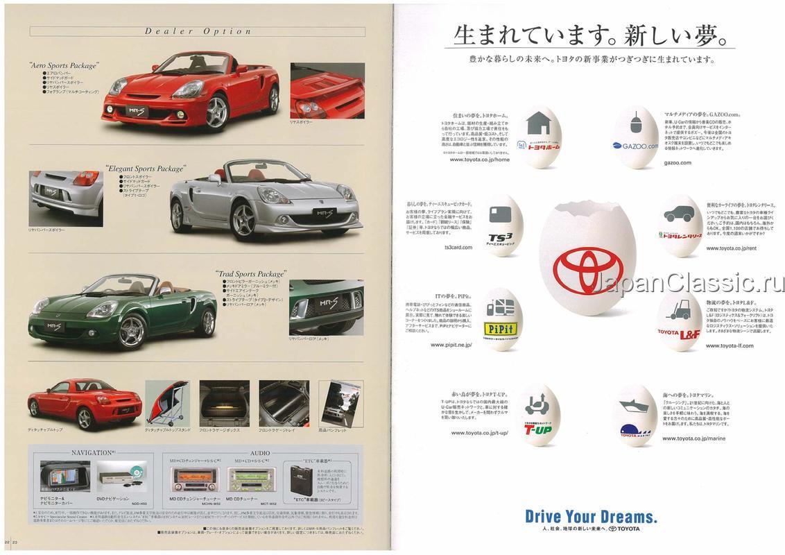 Toyota Mr-s 2002 ZZW30 - JapanClassic
