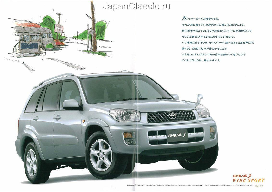 Toyota Rav4 2001 J Zca25zca26 Japanclassic Lights
